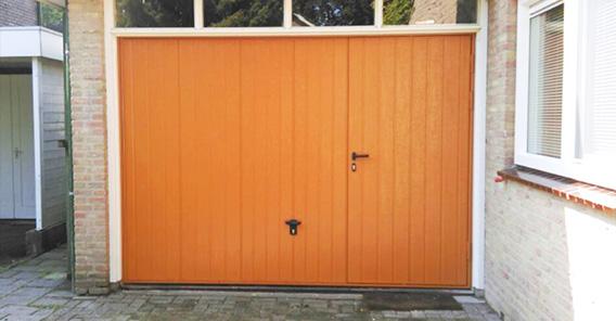 oranje easyport garagedeur