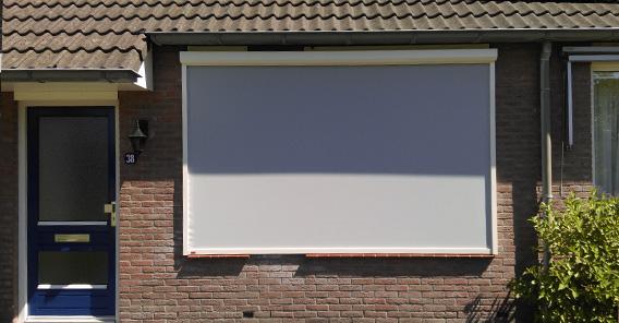 zip screen lichtgrijs